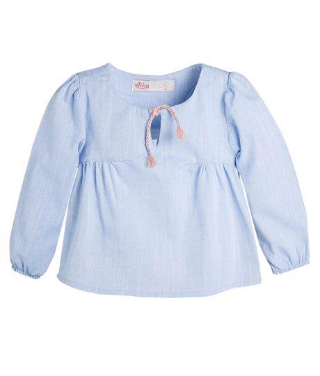 Camisa-manga-larga-Ropa-bebe-nina-Morado