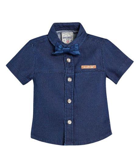 Camisa-con-corbatin-Ropa-bebe-nino-Indigo