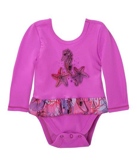 Vestido-de-baño-Ropa-recien-nacido-nina-Morado