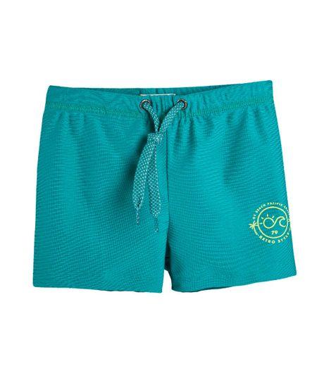 Boxer-de-natacion-Ropa-nino-Verde