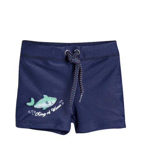 Boxer-de-natacion-Ropa-recien-nacido-nino-Azul