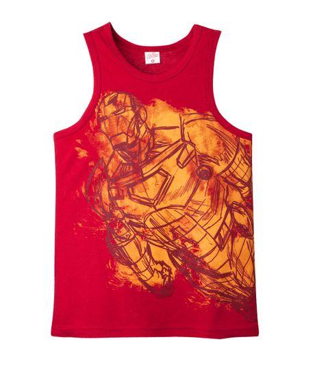Camiseta-manga-sisa-Ropa-nino-Rojo