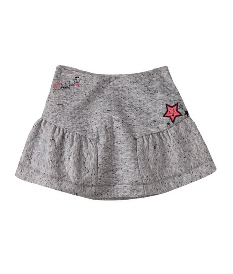 Minifalda-Ropa-nina-Gris