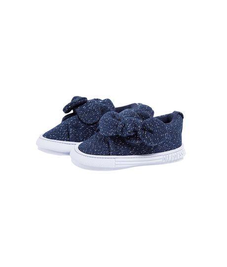 Zapatos-precaminadores-Ropa-recien-nacido-nina-Azul