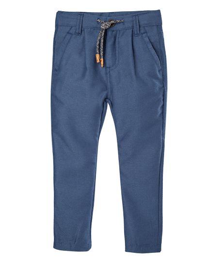 Pantalon-tipo-jogger-Ropa-nino-Azul