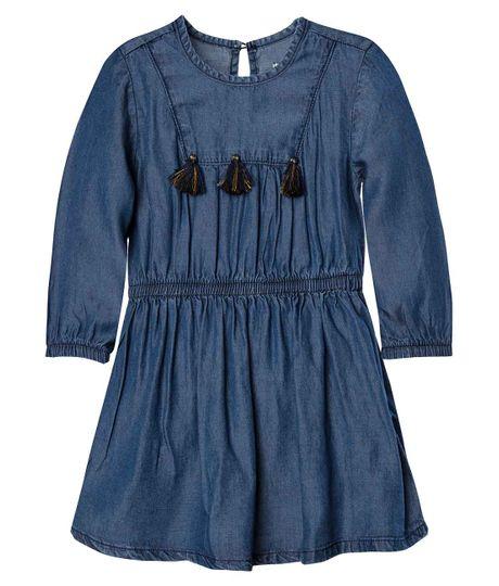 Vestido-manga-larga-Ropa-bebe-nina-Indigo-medio