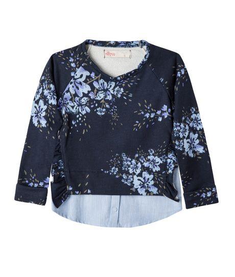 Camiseta-manga-larga-Ropa-nina-Azul