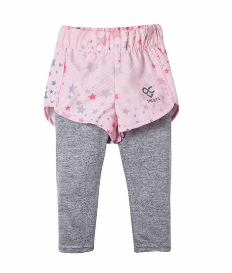 Leggings-con-short-Ropa-bebe-nina-Rosado