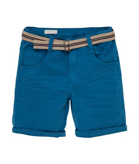 Bermuda-tipo-jogger-Ropa-nino-Azul