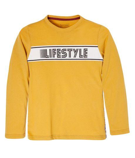 Camiseta-manga-larga-Ropa-nino-Naranja