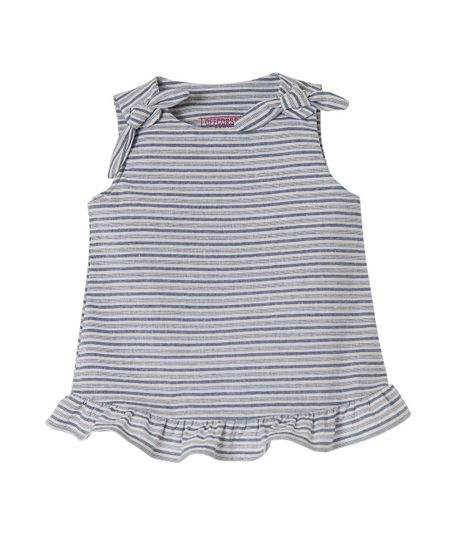 Camisa-manga-sisa-Ropa-recien-nacido-nina-Azul