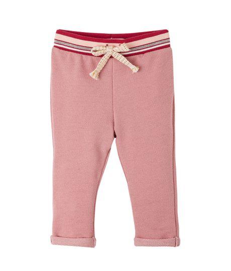 Pantalon-Ropa-recien-nacido-nina-Rojo