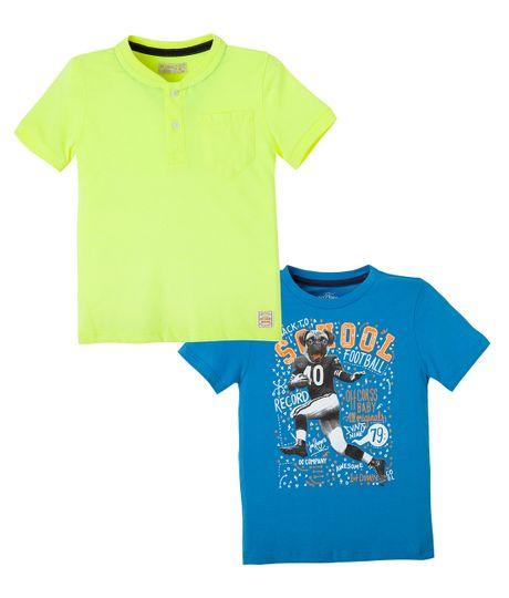 Camisetas-set-x-2-Ropa-bebe-nino-Azul