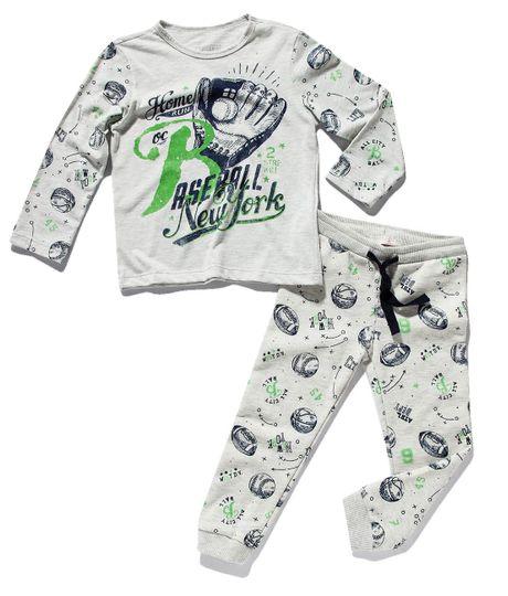 Pijama-manga-larga-Ropa-bebe-nino-Gris