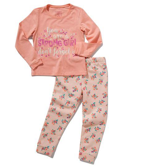 Pijama-manga-larga-Ropa-bebe-nina-Rosado