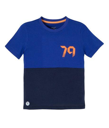 Camiseta-deportiva-Ropa-bebe-nino-Azul