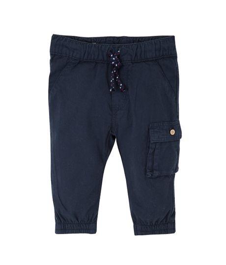 Pantalon-tipo-cargo-Ropa-recien-nacido-nino-Azul