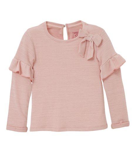 Camiseta-manga-larga-Ropa-bebe-nina-Rosado