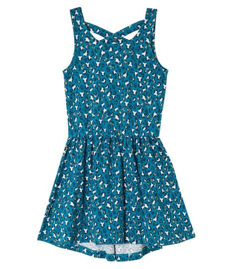 Vestido-corto-Ropa-nina-Azul