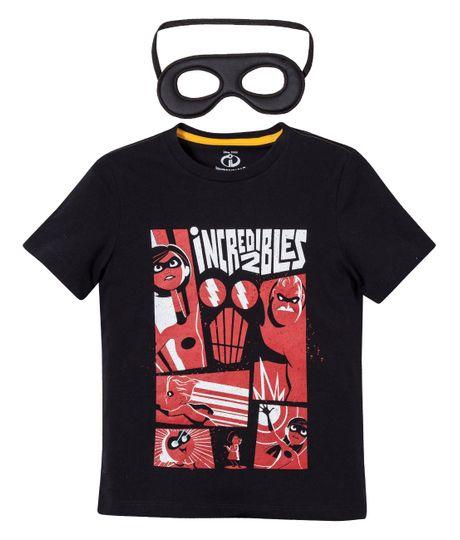 Camiseta---mascara-Ropa-bebe-nino-Gris