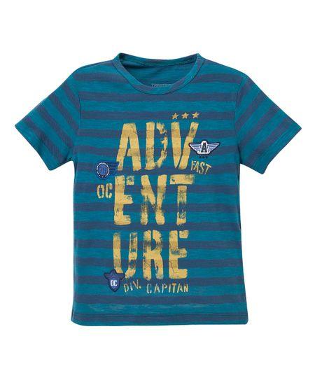 Camiseta-manga-corta-Ropa-bebe-nino-Azul