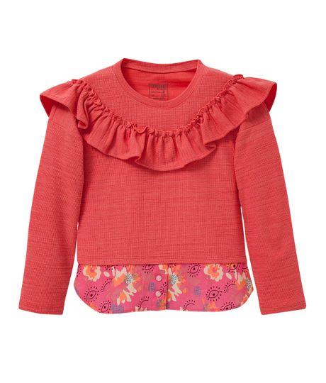 Camiseta-manga-larga-Ropa-nina-Rojo