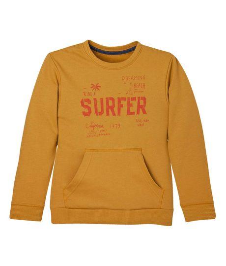 Camiseta-manga-larga-Ropa-nino-Amarillo