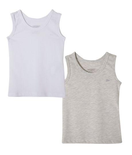 Set-x-2-camisetas-interiores-Ropa-bebe-nino-Blanco