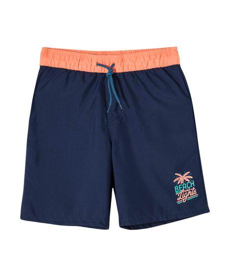 Pantaloneta-de-baño-Ropa-nino-Azul