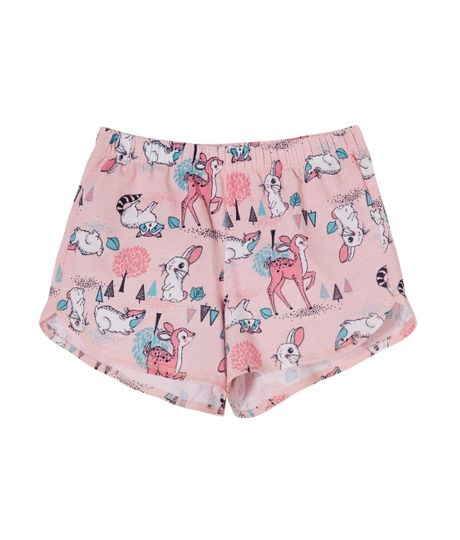 Short-de-pijama-Ropa-bebe-nina-Rosado