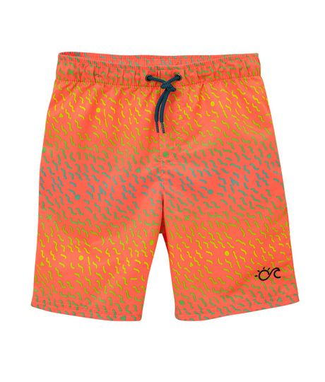 Pantaloneta-de-baño-Ropa-nino-Naranja