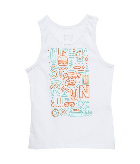 Camiseta-manga-sisa-Ropa-nino-Blanco