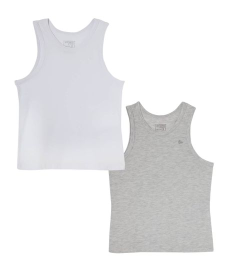 Set-x-2-camisetas-interiores-Ropa-nino-Blanco