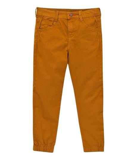 Pantalon-tipo-jogger-Ropa-nino-Cafe