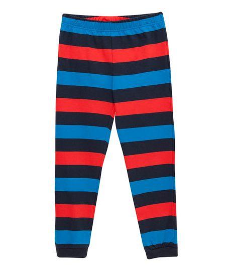 Pantalon-de-pijama-Ropa-nino-Azul
