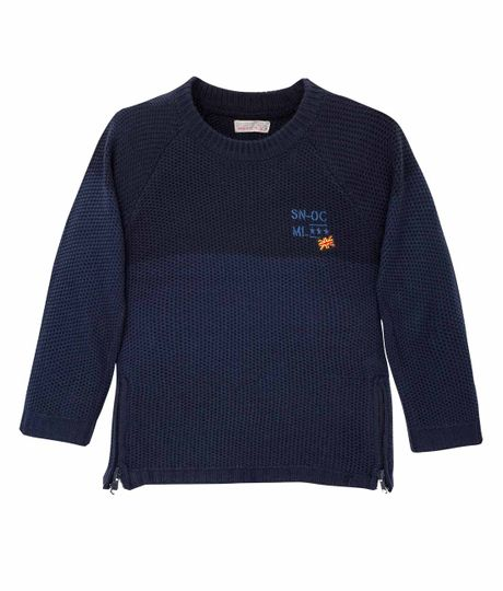 Buzo-tejido-Ropa-bebe-nino-Azul
