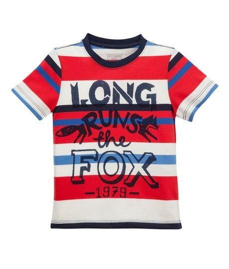 Camiseta-de-pijama-Ropa-bebe-nino-Rojo