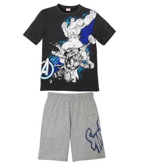Pijama-Ropa-nino-Gris