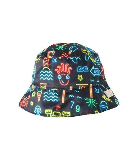 Sombrero-doble-faz-Ropa-recien-nacido-nino-Azul