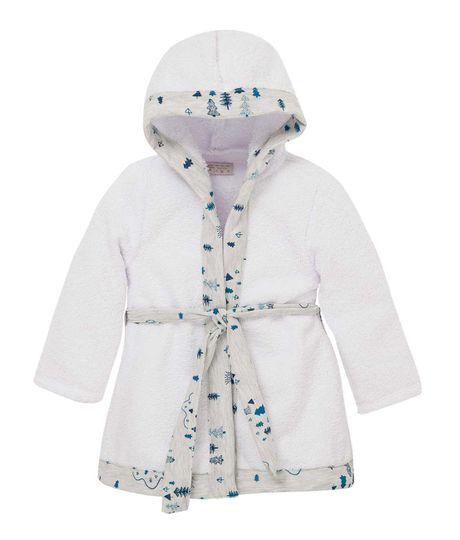 Kimono-Ropa-recien-nacido-nino-Blanco