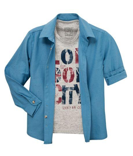 Camisa-manga-larga-Ropa-nino-Azul