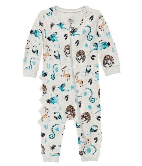 Pijama-estimulante-Ropa-recien-nacido-nino-Gris