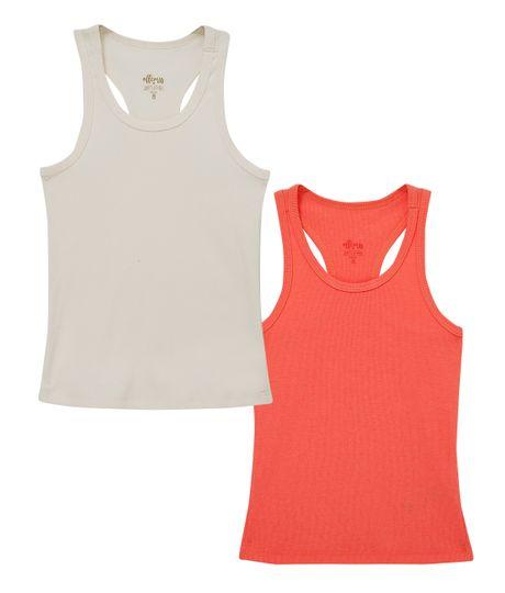 Set-x-2-camisetas-Ropa-nina-Blanco