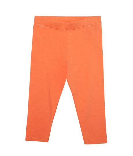 Leggings-Ropa-recien-nacido-nina-Naranja