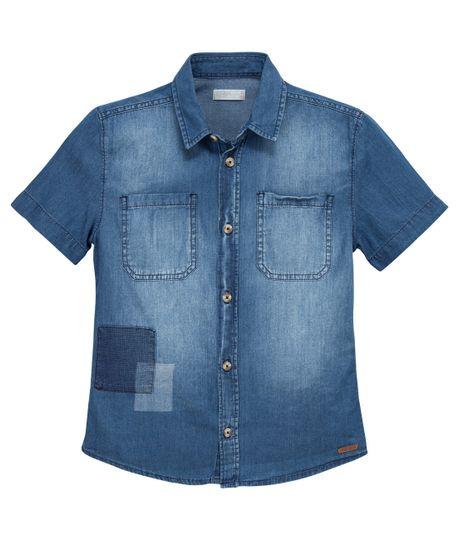 Camisa-manga-corta-Ropa-nino-Indigo