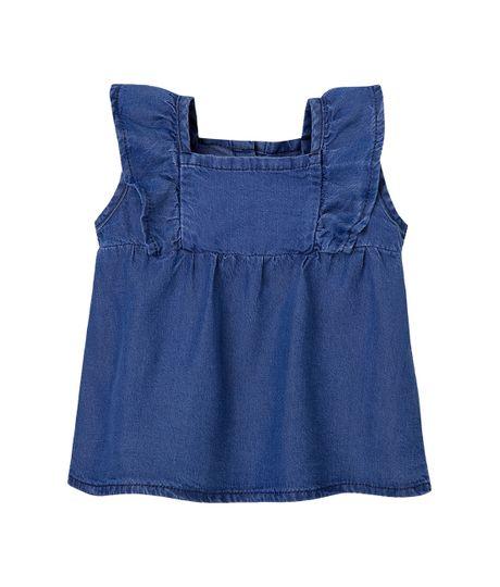 Camisa-manga-sisa-Ropa-recien-nacido-nina-Indigo-medio
