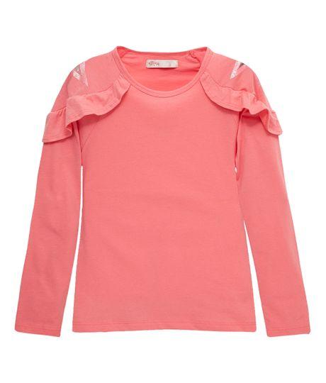 Camiseta-manga-larga-Ropa-nina-Rosado
