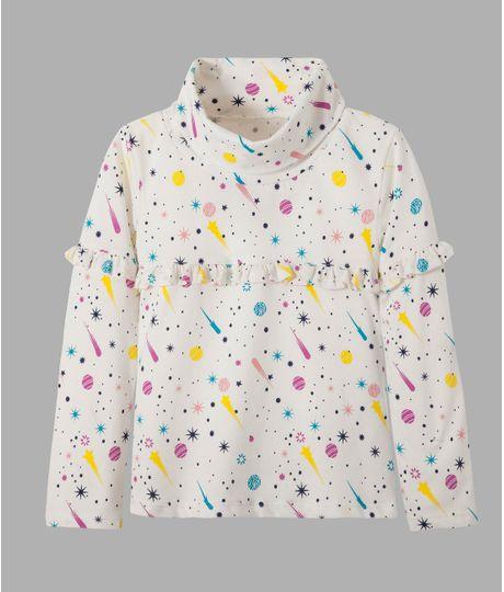 Camiseta-manga-larga-Ropa-bebe-nina-Blanco