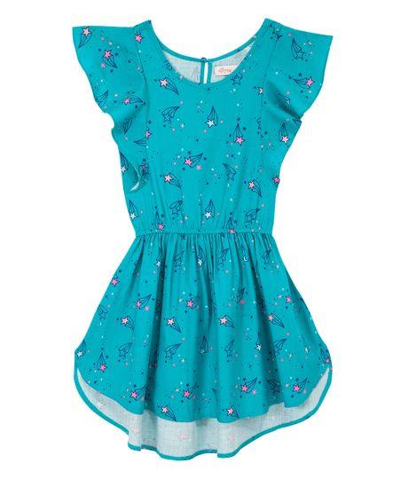 Vestido-manga-sisa-Ropa-nina-Azul