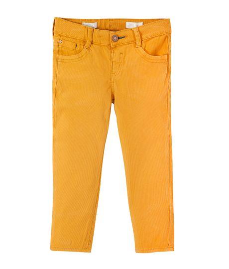 Pantalon-super-slim-Ropa-bebe-nino-Naranja
